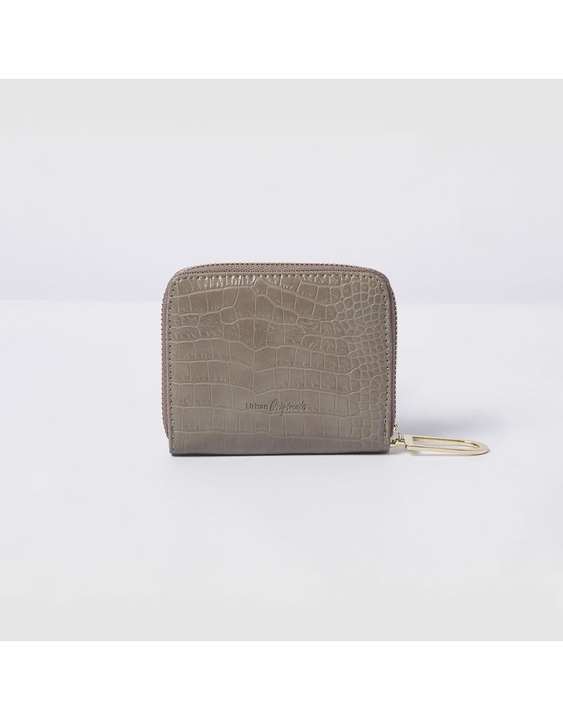 Urban Originals Essentials Grey Croc Wallet