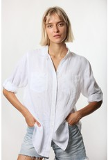 Hut Clothing The Boyfriend Linen Shirt