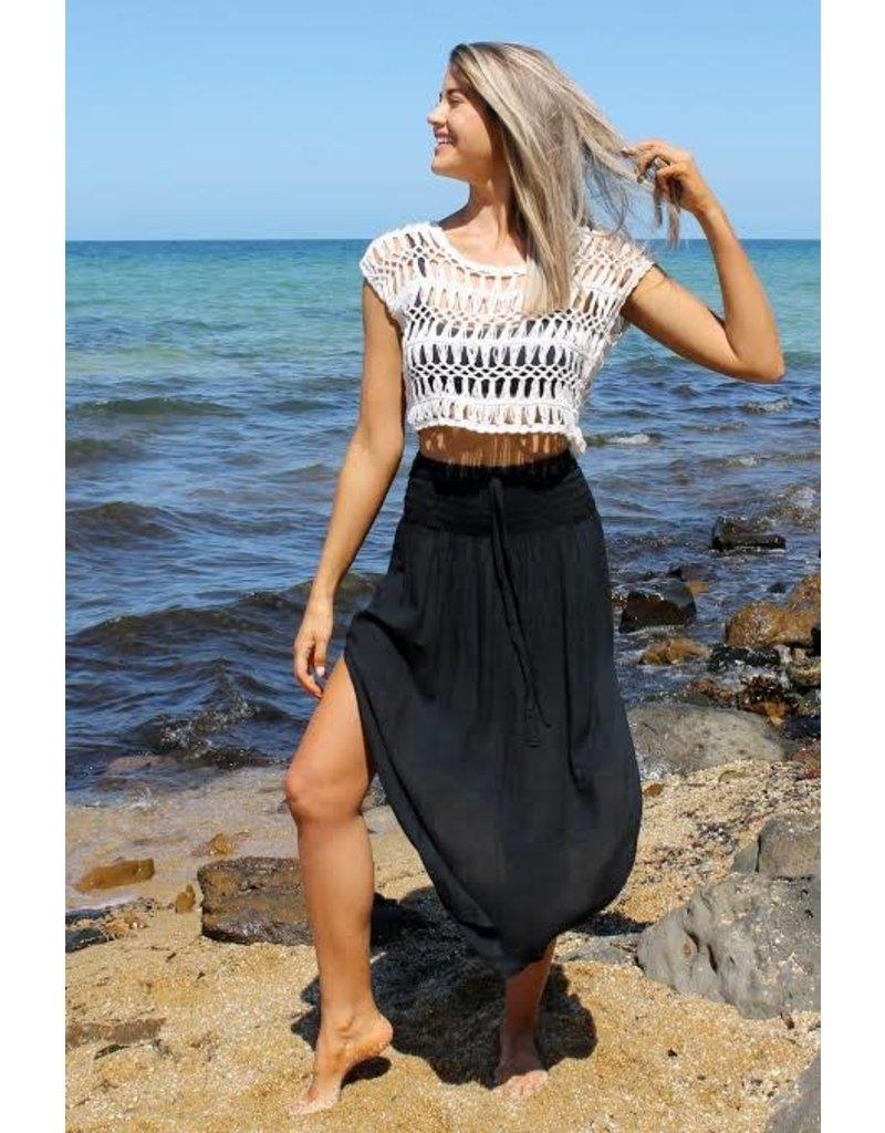 Samsara Skirt in Black 6-14