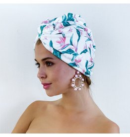 Louvelle Amelie Shower Cap- Hawaiian Bird of Paradise