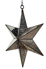 X Large Hanging Christmas Star Light