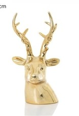 Gold Christmas Reindeer