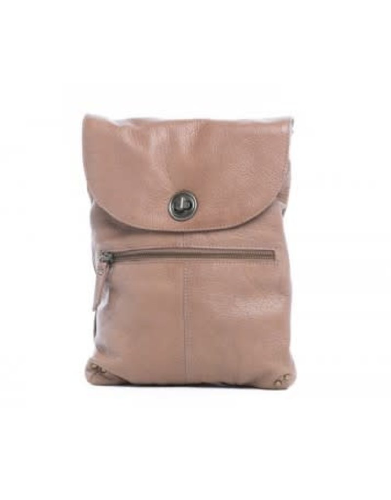 Tayla Lock Sling Bag Blush