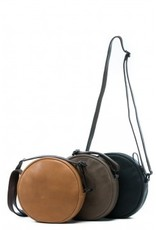 Ashley - Round cross body - Tan