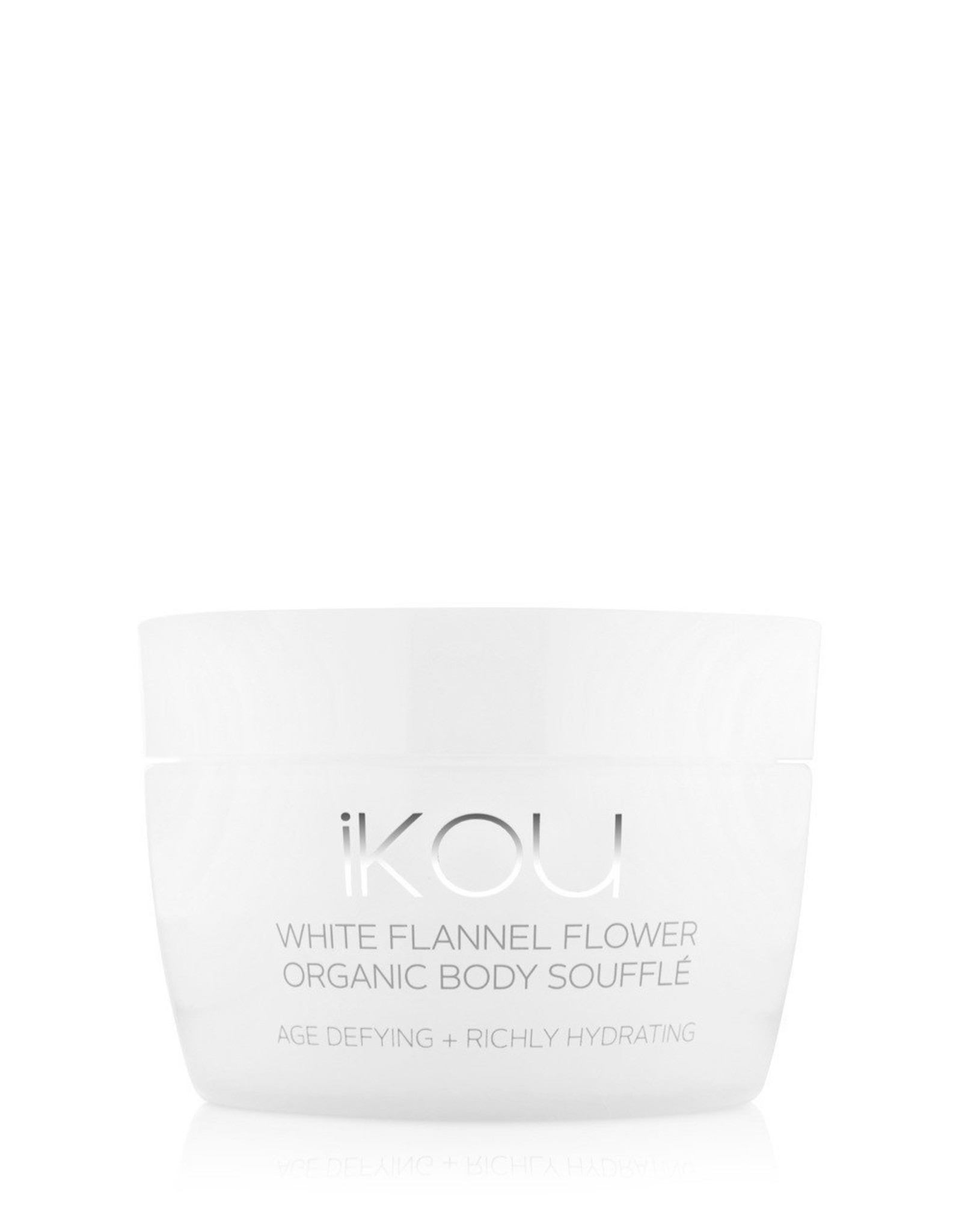 IKOU white flannel flower age-defying body souffle
