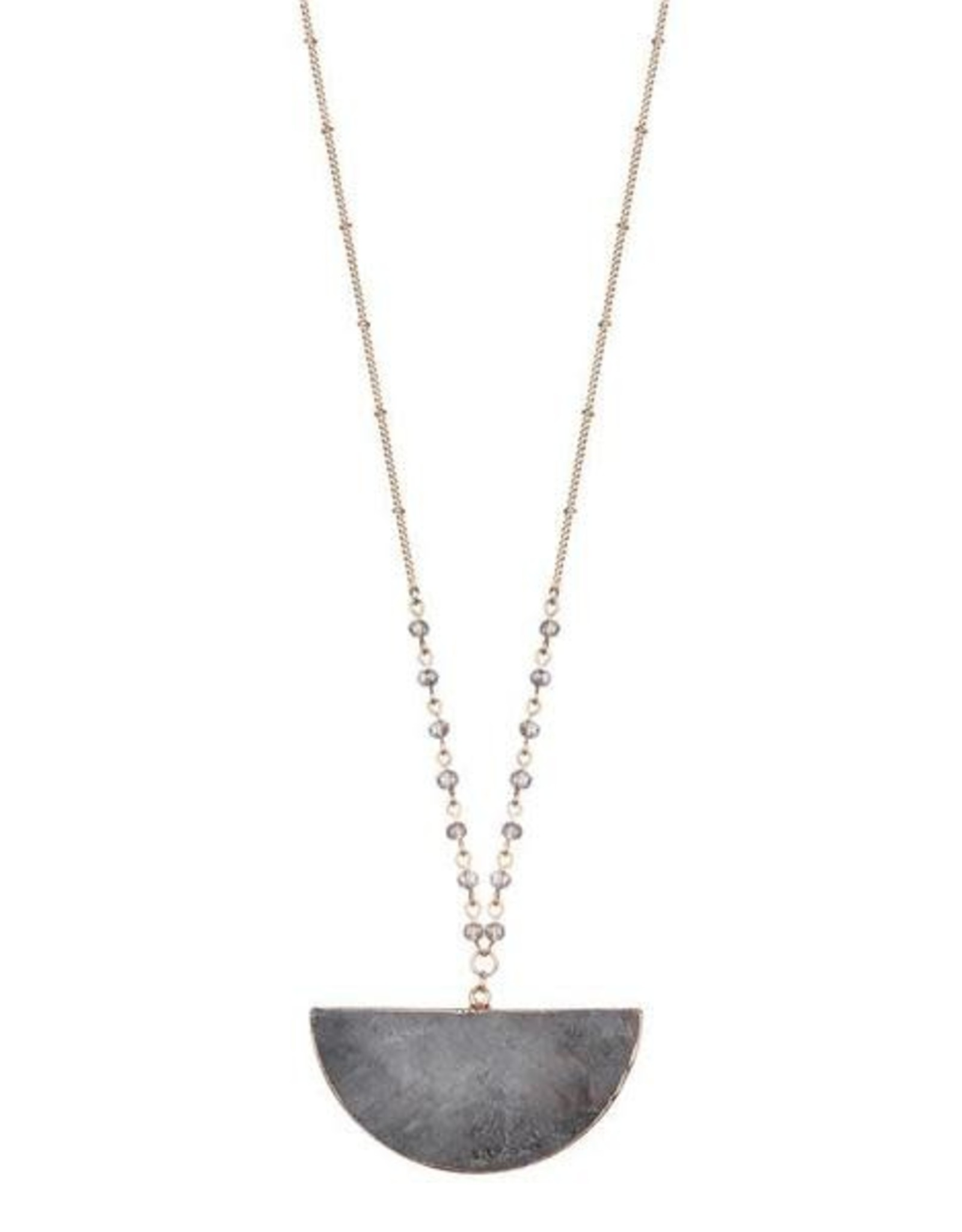 G X G Collective Stephanie Natural Stone Necklace