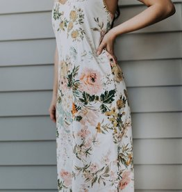island the label Sorrento midi dress floral XS