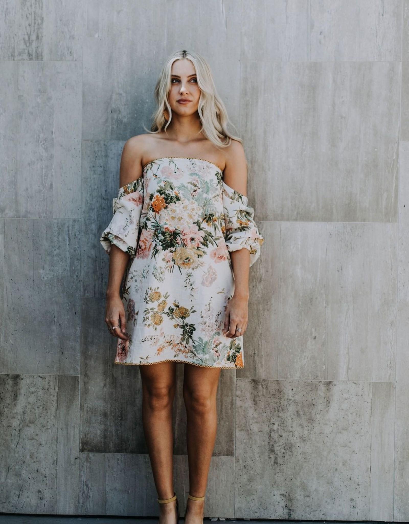 Jemma dress floral medium