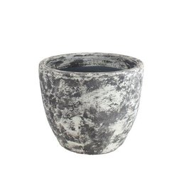 Stoneware egg planter medium