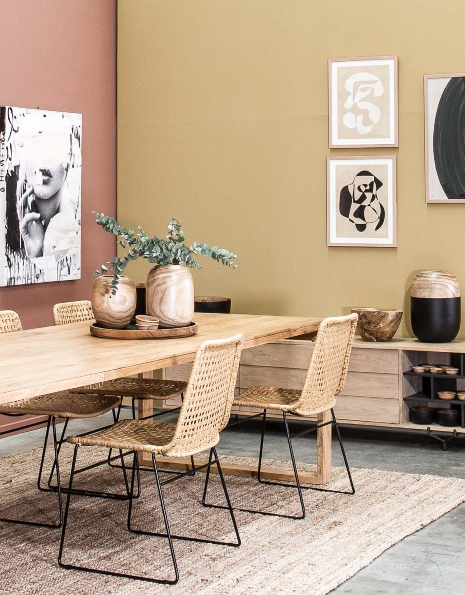 Bella loom dining chair