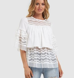 Amelius Lilth lace top