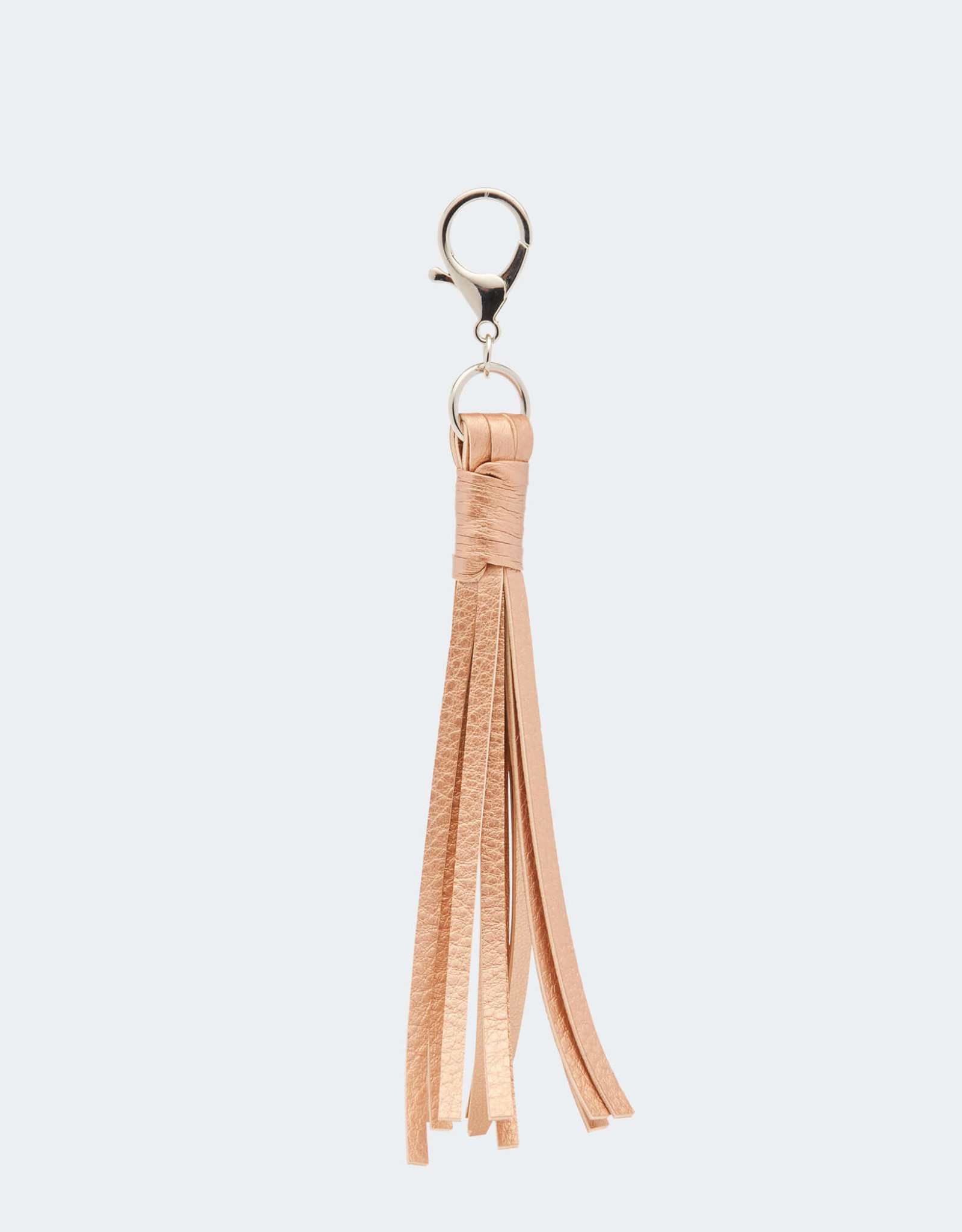 Chile rose gold keyring tassel