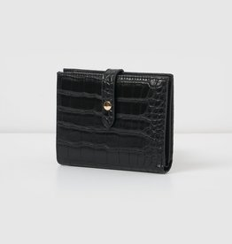 Peace Wallet Black Crock