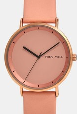 Tony and Wills, Rose White and Pink Watch