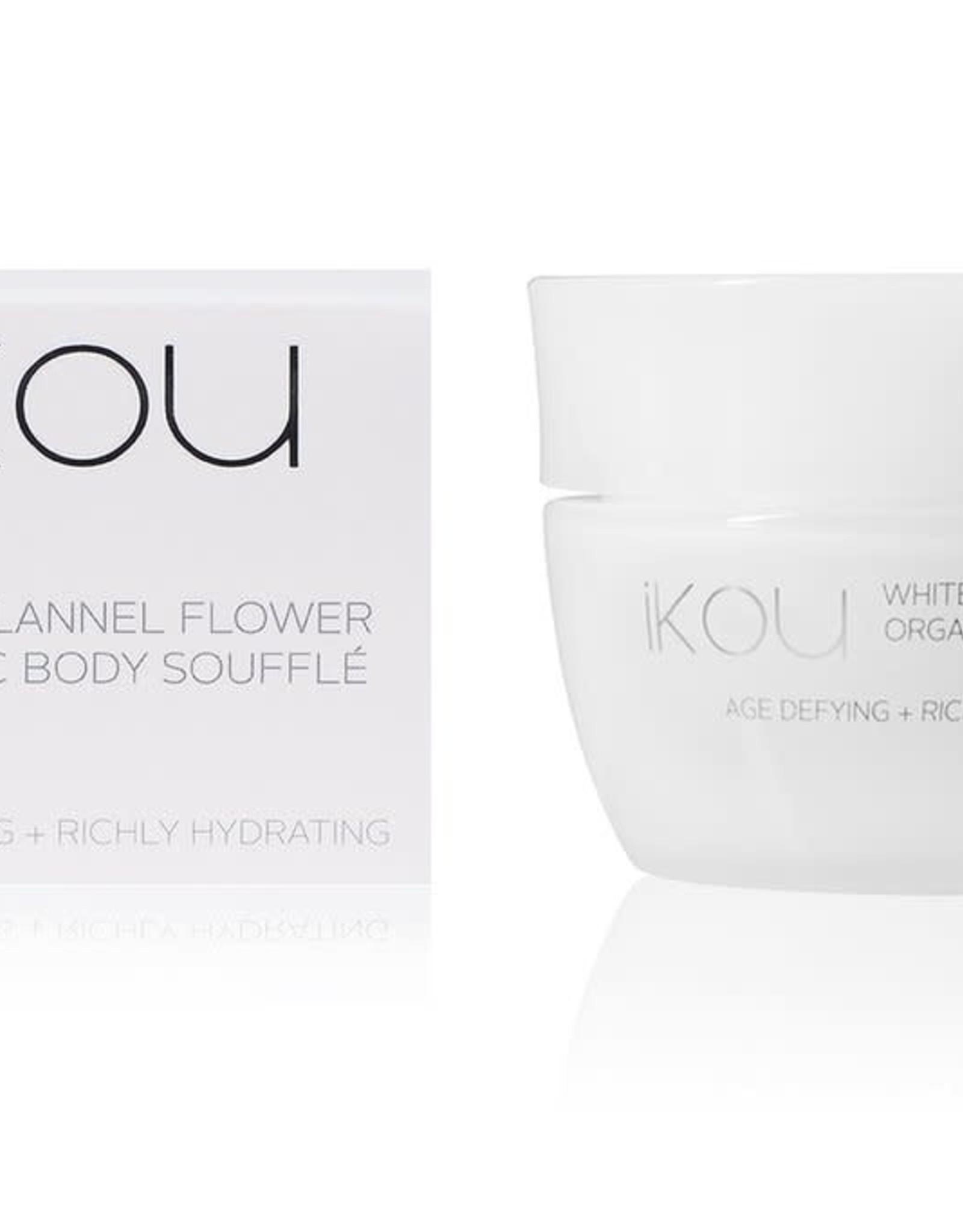IKOU White Flannel Flower Age-Defying Body Souffle