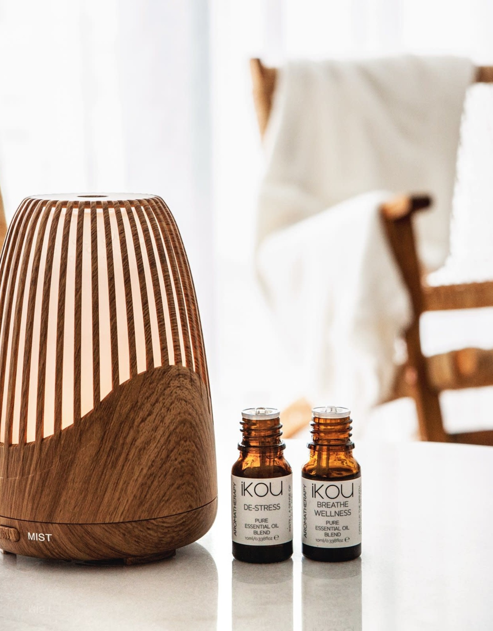 IKOU Aromatherapy Ultrasonic Essential Oil Diffuser