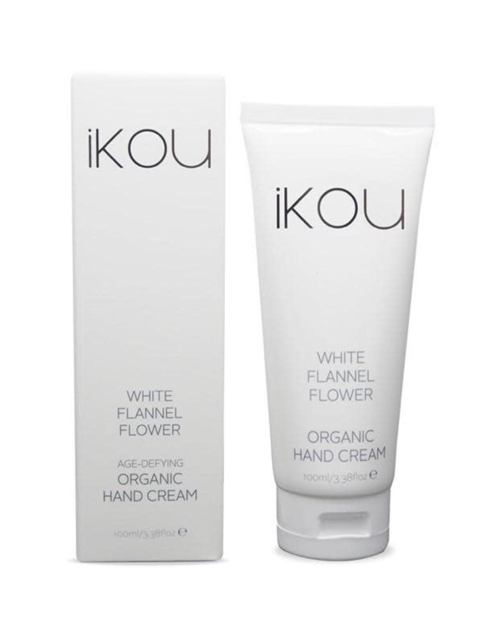 White Flannel Flower Hand Cream