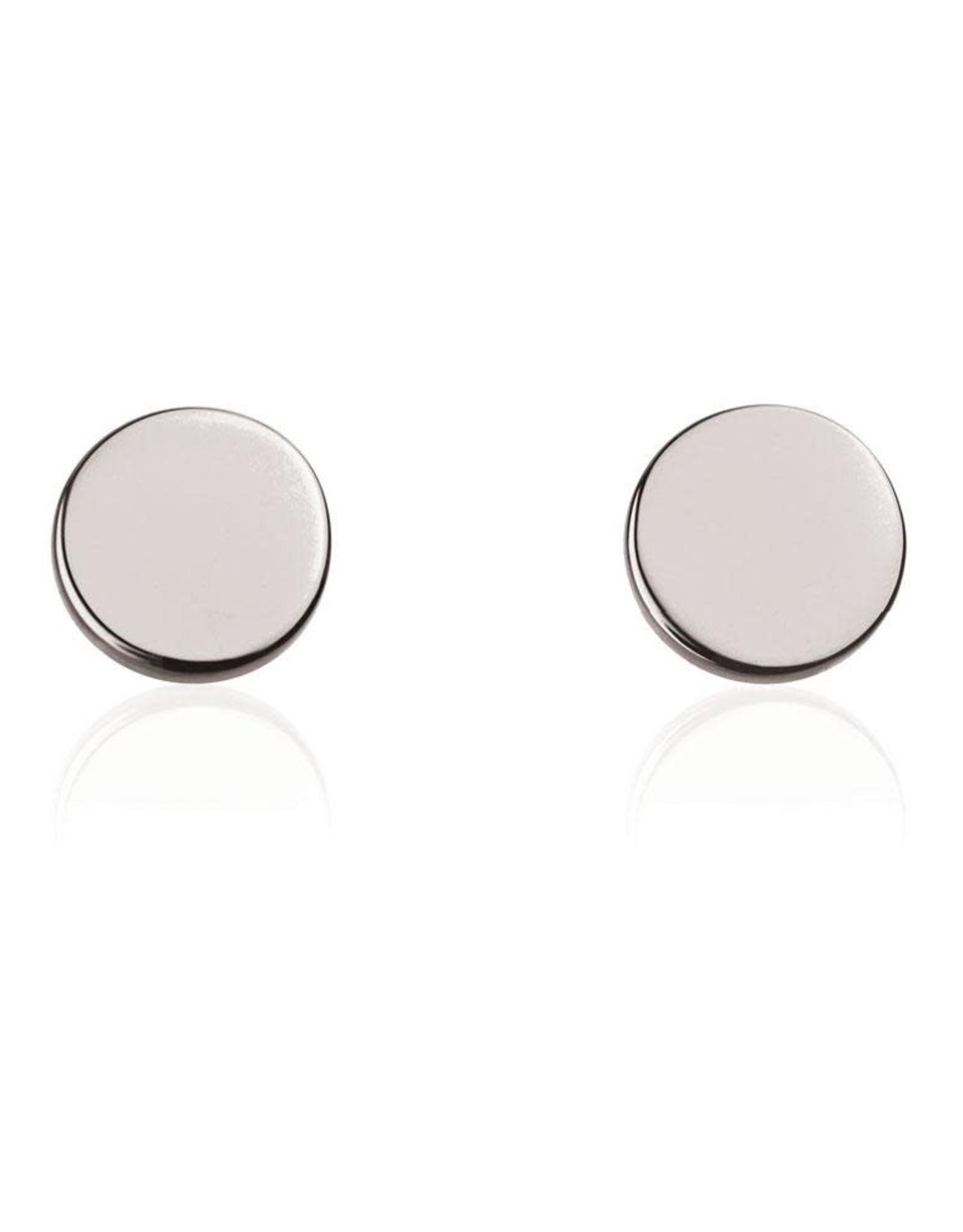 Linda Tahija Disk Stud Earring
