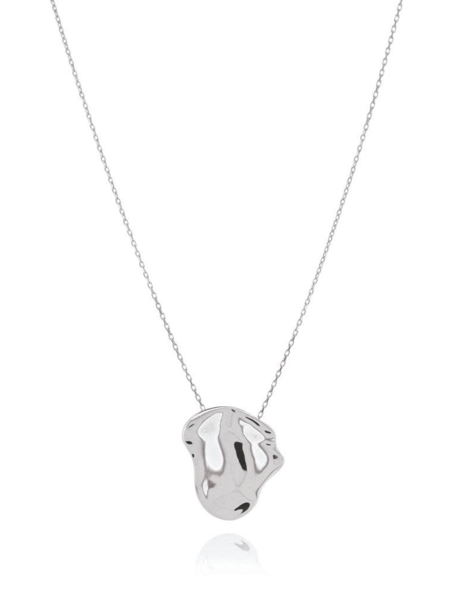 Morph Necklace, Silver