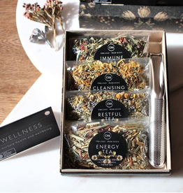 Organic Merchant Wellness Tea Gift Set