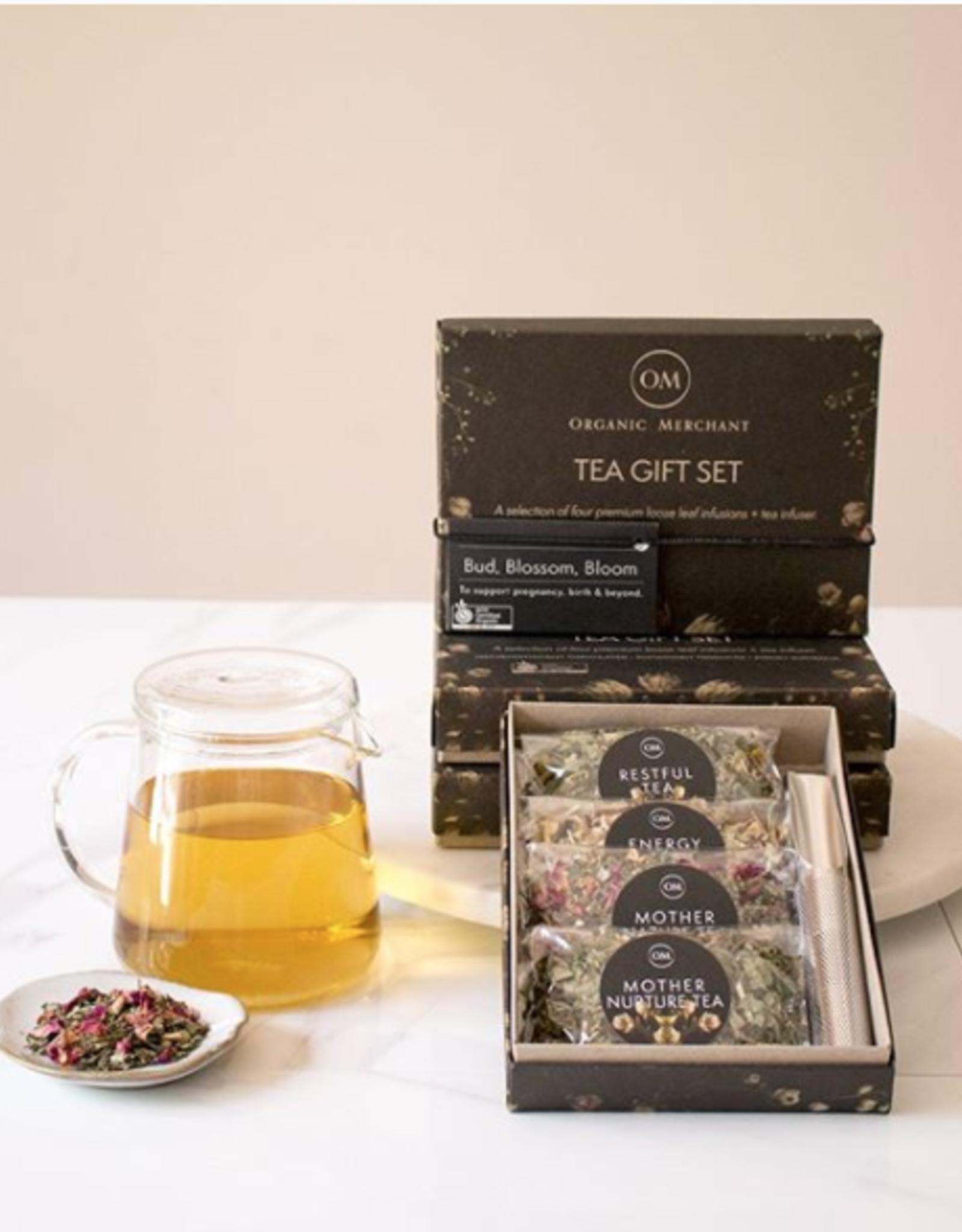 Organic Merchant Bud, Blossom and Bloom Tea Gift Set