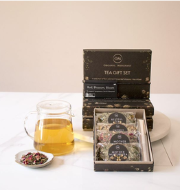 Organic Merchant Bud, Blossom and Bloom Tea Gift Set