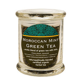 Organic Merchant Moroccan Mint Green Tea 80g