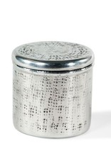 Horgans Metal Cannister with Square Design