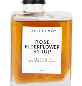 Tasteology Rose & Elderflower Syrup