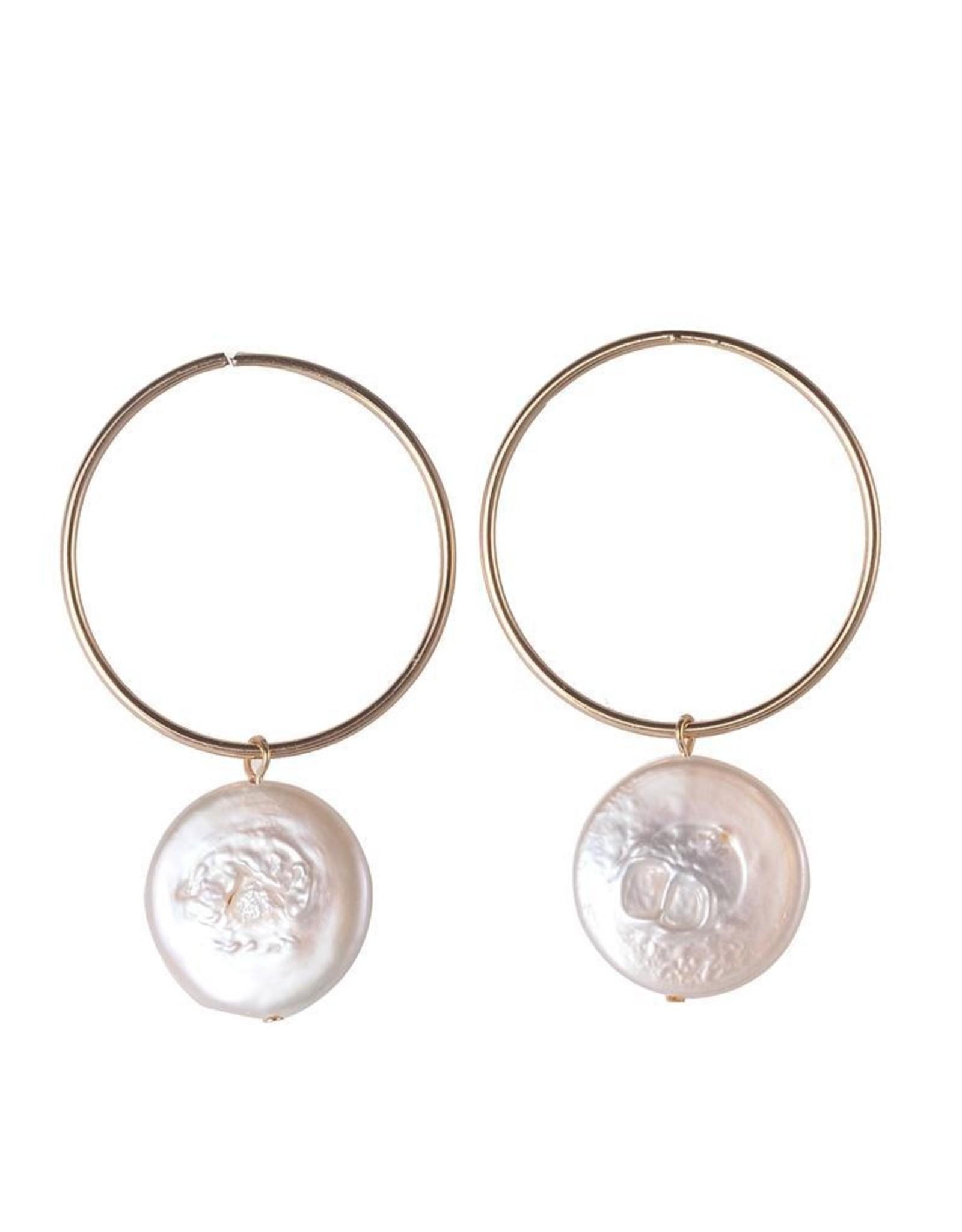 Kathleen Freshwater Pearl Earrings