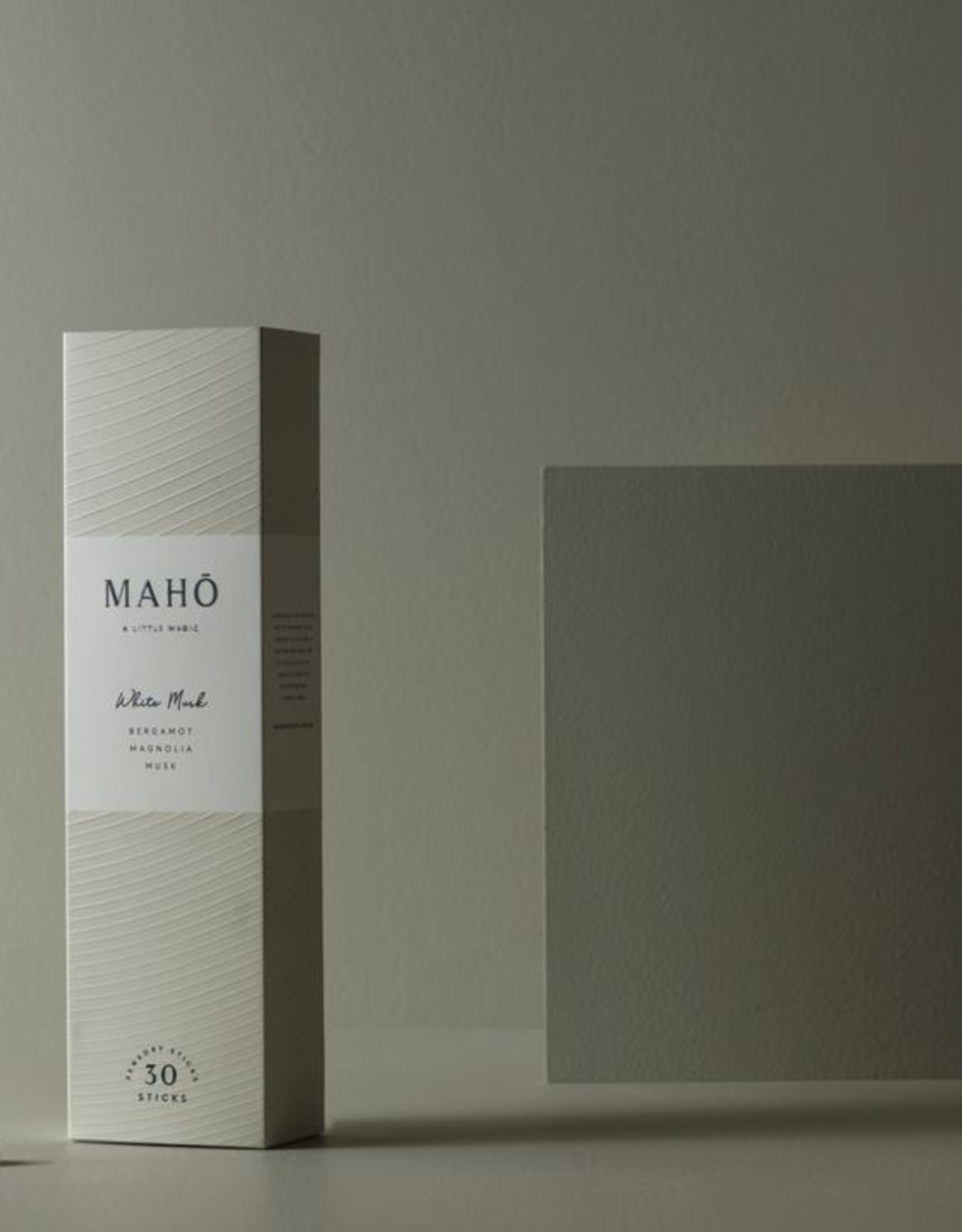 Maho WHITE MUSK - Sensory Sticks