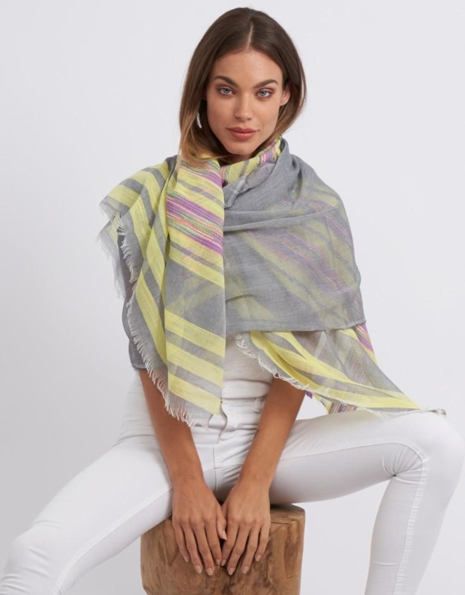Biarritz scarf (yellow)