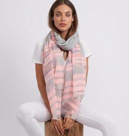 Biarritz scarf (pink)