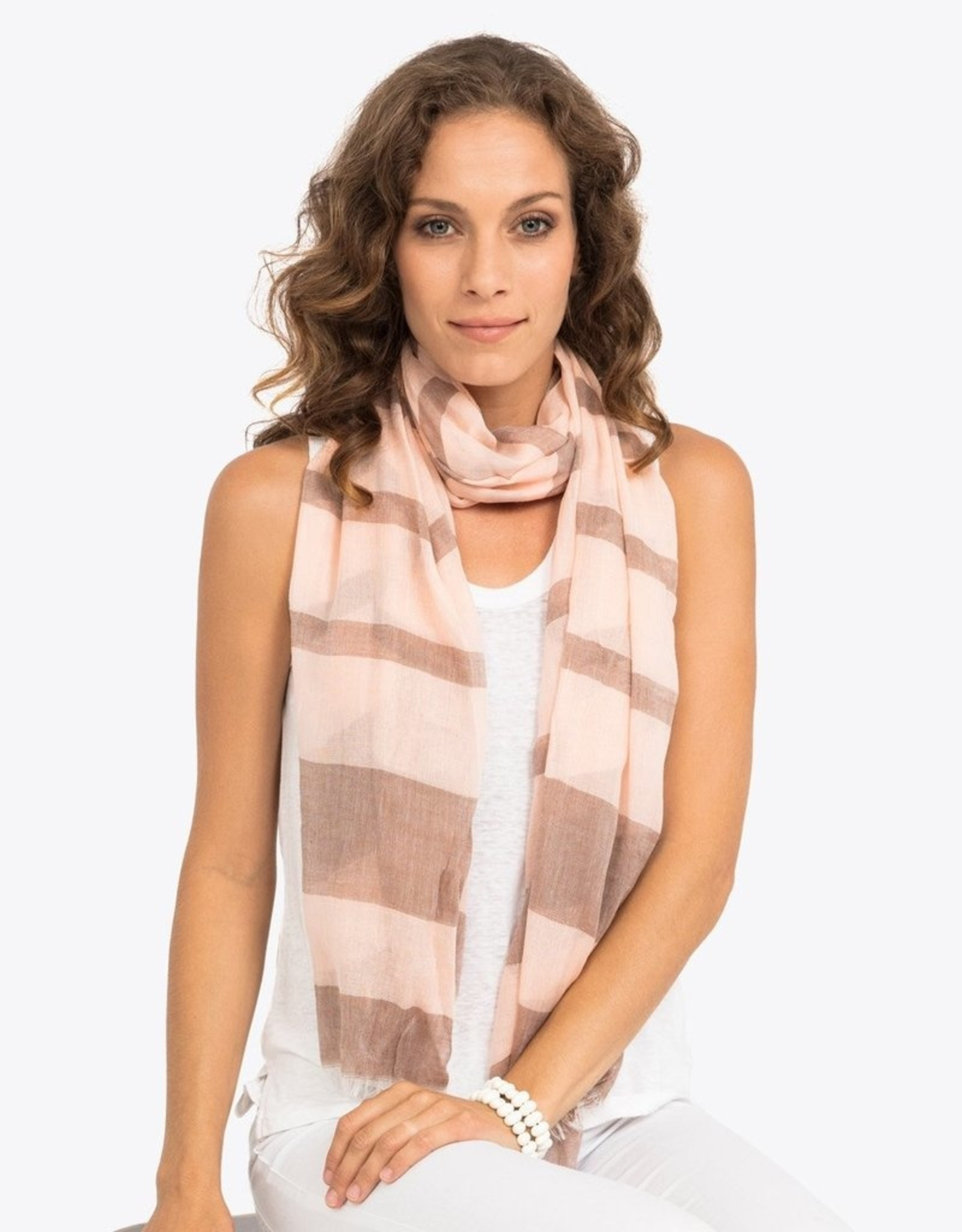 Basque scarf (peach)
