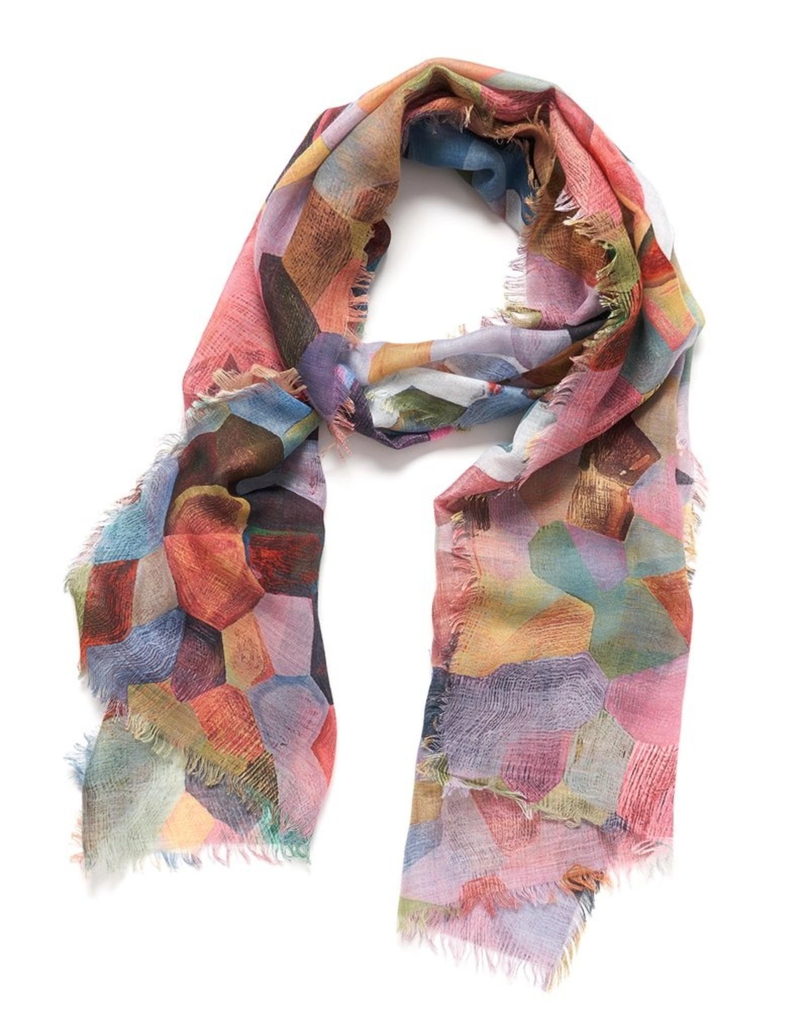 Pixelate light scarf (orange)
