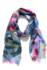 Pixelate light scarf (grey)