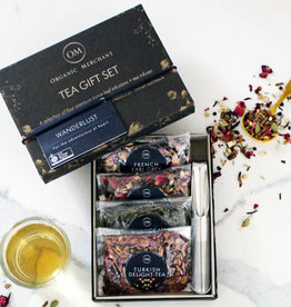Organic Merchants Wanderlust Tea Gift Box