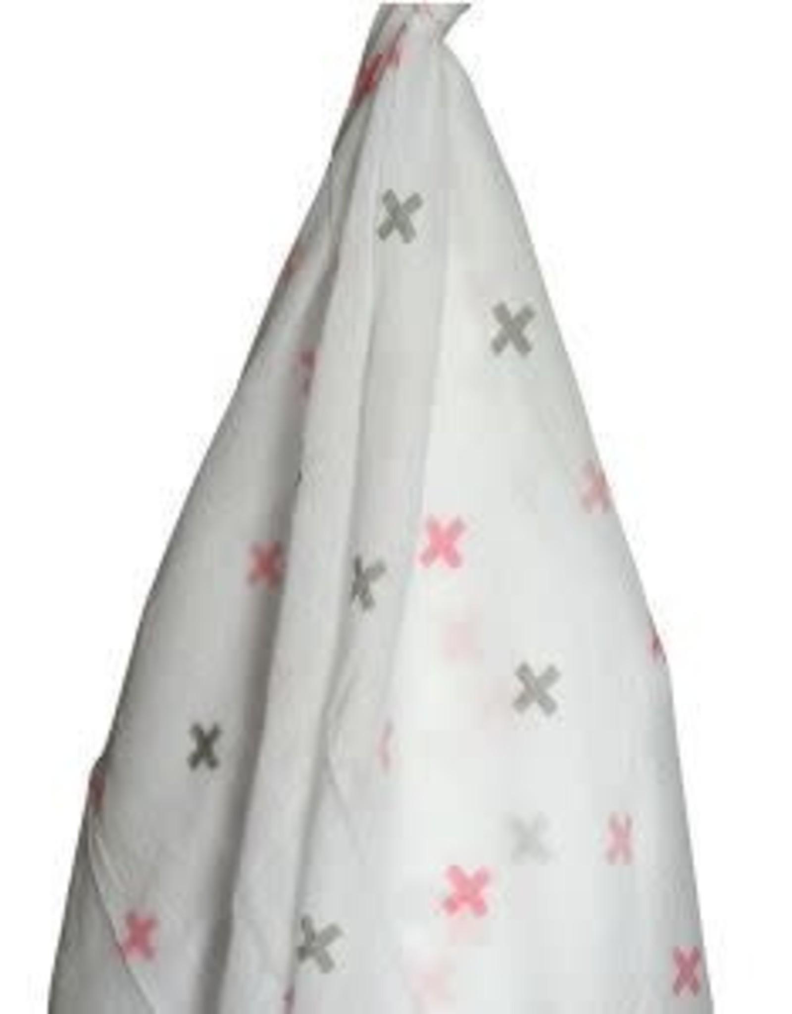 Muslin Wrap  - Pink Cross