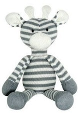 Knitted Giraffe Grey