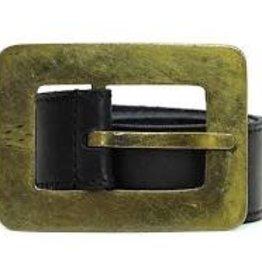 Queenscliff Belt Black Medium 36/90