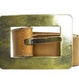 Queenscliff Belt Tobacco Small 32/80