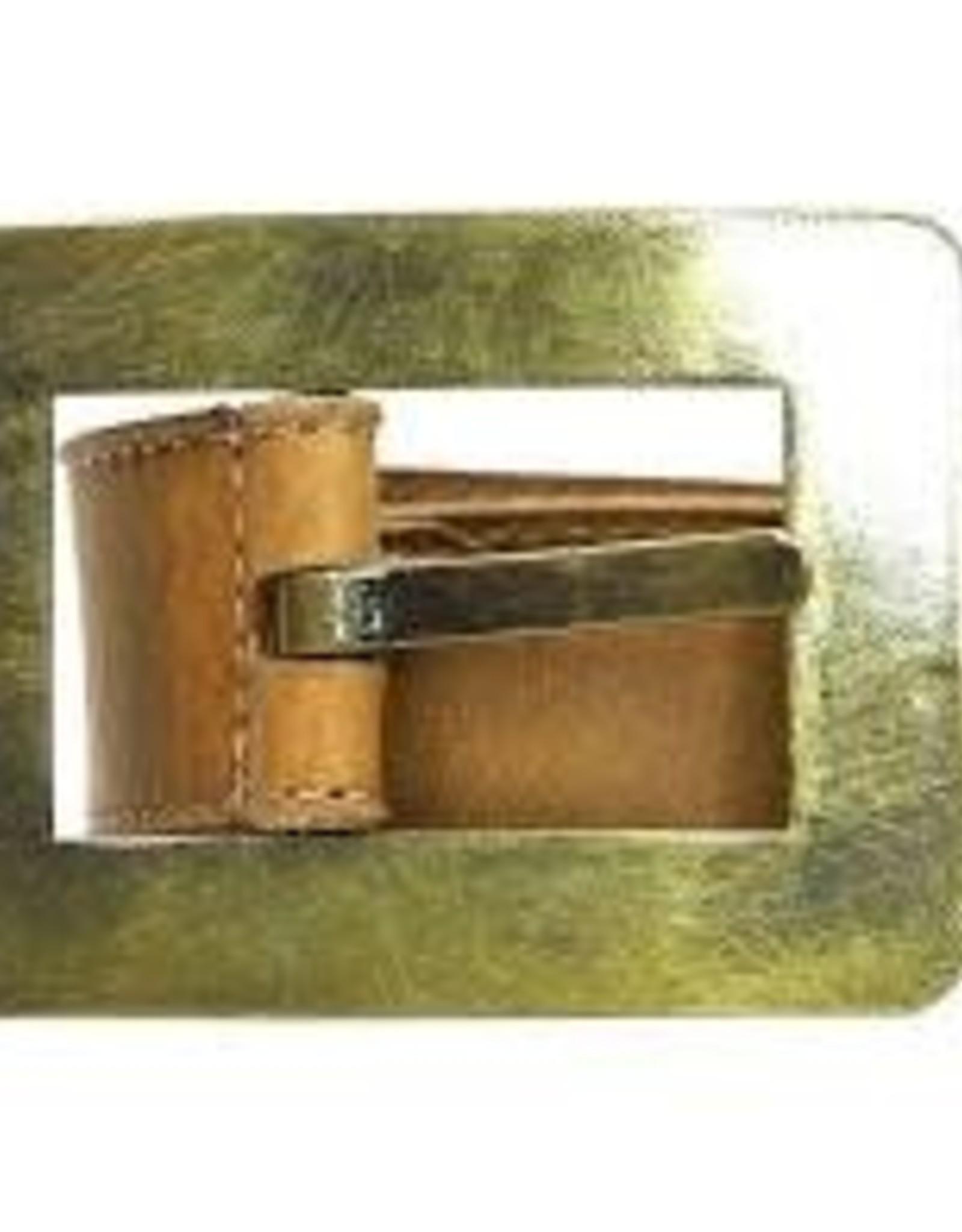 Queenscliff Belt Tobacco Medium 36/90