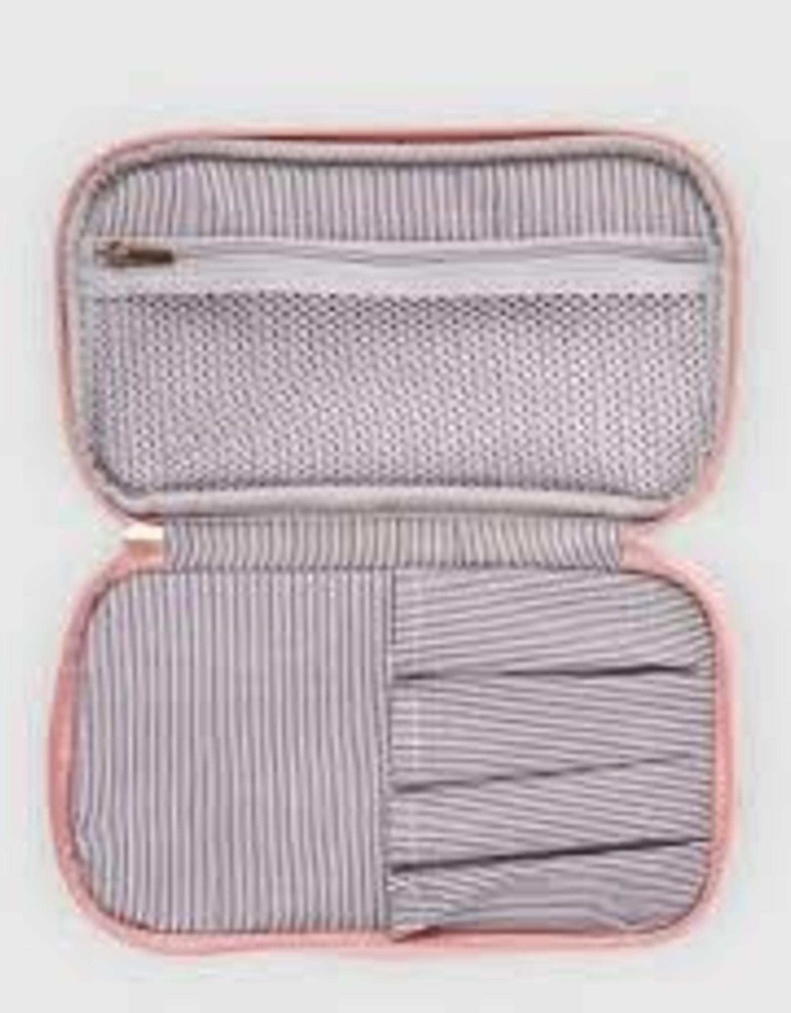 Rosie Pale Pink Makeup Case