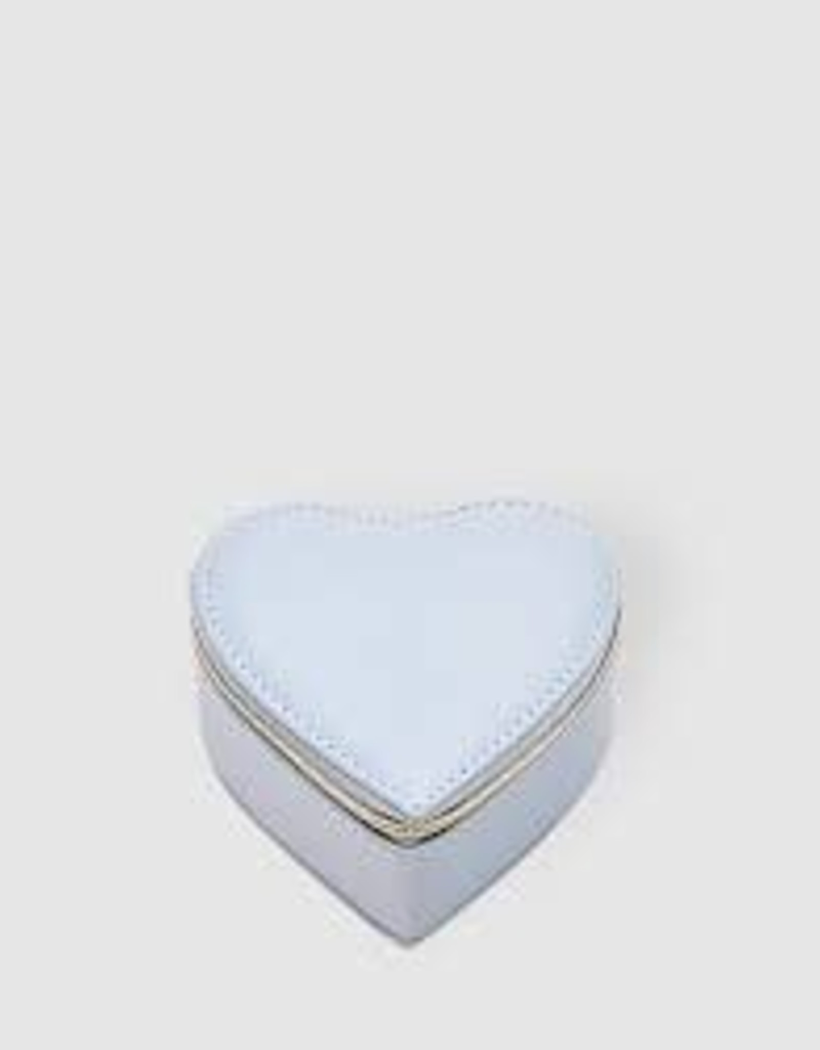 Heart Jewellery Box - Pale Blue