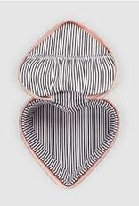 Heart Jewellery Box - Peach