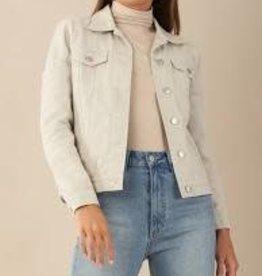 Alliance Cotton Drill Jacket - Grey MEDIUM