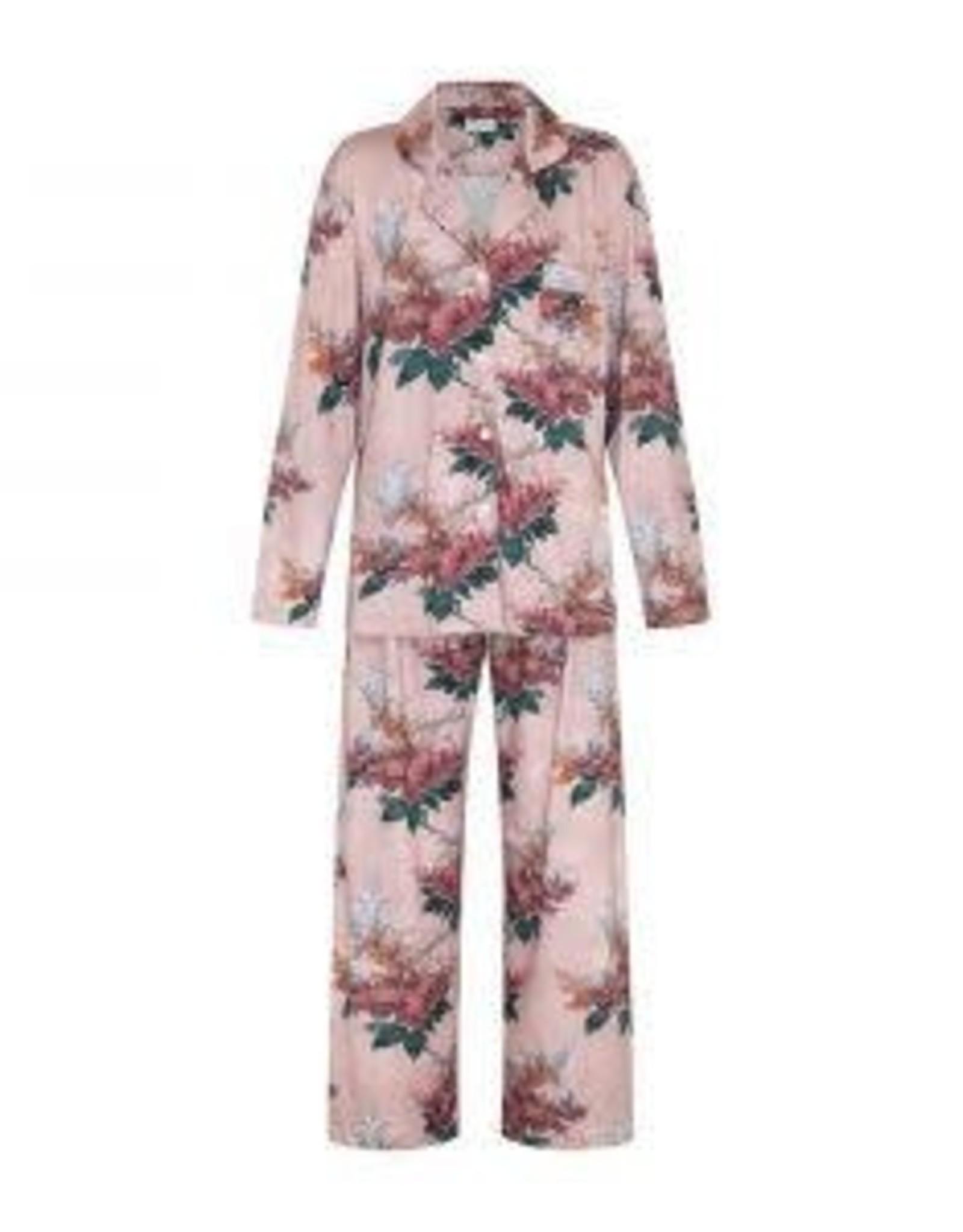 Pyjamas Pink Stock Floral - MEDIUM