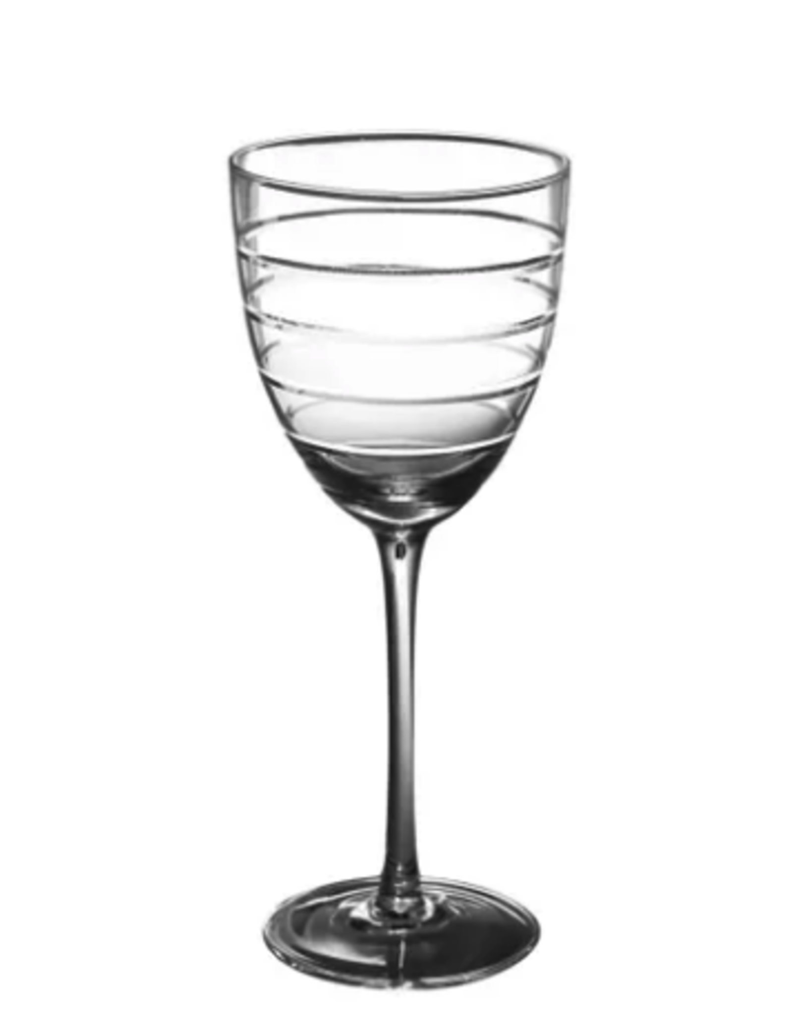 Abella Red Wine Glass w Etching