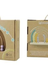 Toyslink Wooden Rainbow Abacus