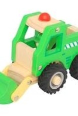 Toyslink Wooden Vehicle - Digger